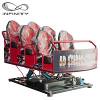 China Interactive Motion Platform 7D Virtual Reality Cinema Truck Mobile 8D 9D 12D Theater wholesale