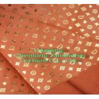 China Foil Printed 105D*150D Suede fabric wholesale