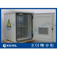 Fan Cooling Outdoor Battery Cabinet For Pole Mount / Wall Mount Auxiliary Direct Ventilation Holes
