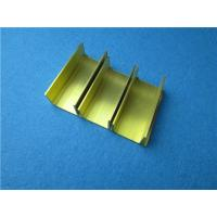 China Extruded Brass Window Frame Copper Alloy Extruding Hardware Profiles wholesale