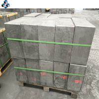 Buy cheap Die Pressed Artificial Graphite Block with High Density High Purity Price from wholesalers