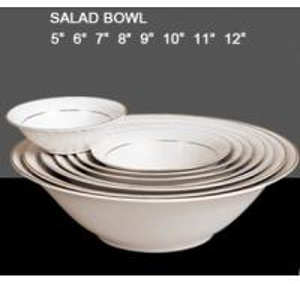 China Fine Porcelain Salad Mixing Bowl Set,Customized Designs Accepted,Dishwasher/Microwave safe wholesale