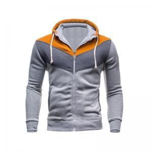 China Sportswear men tracksuits men patchwork hoodies sweatshirts custom logo colorful mens sweatshirts wholesale