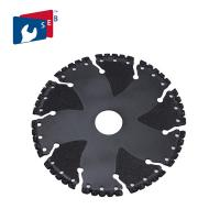 China PVC Iron Ductile Steel Rebar Vacuum Brazed Diamond Tools Rescue Demolition Blade on sale