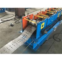 China Cangzhou Blue Steel Plc Controlling Zinc Racking Struct Roll Forming Machine wholesale