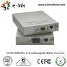 China conversor com poder interno, conversor controlado dos meios de 2km Gigabit Ethernet dos meios da fibra wholesale