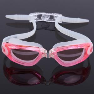 China Fast Release Belt Anti Fog Swim Goggles Anti Ultraviolet With 3D Ergonomic Design wholesale