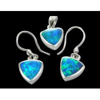 China 925 Sterling Silver Opal Jewelry Set (WSPHT00552) wholesale