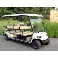 China Custom Portable Electric Sightseeing Car 8 Seats Electric Golf Cart 48V 4KW wholesale
