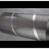 Audio Perforated Stainless Steel Cylinder , Architecture Perforated Stainless Tube