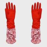 China Red Extra Household Latex Gloves wholesale