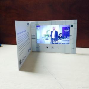 Buy cheap HD folheto video de 1024 x de 600 LCD com tela video, cartões de Digitas from wholesalers