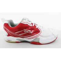 China Soft Breathable White / Red Tennis Shoes Customized Waterproof wholesale