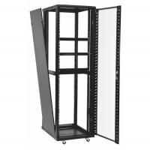 China 42u 37u Perforated Door Network Equipment Rack Floor Standing Data Center Cabinet wholesale