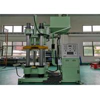 China Low Noise Plate Vulcanizing Machine Contraposition 400 Ton Clamp Force on sale