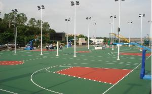 Quality Maydos Water Base Acrylic Epoxy Floor Paint for Basketball Court Decoration for sale