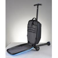 China 2015 most salable and competitive Business travel wheel luggage scooter wholesale