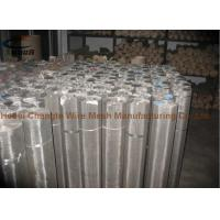 China Air Vents Stainless Steel Woven Wire Mesh 12X12 Mesh 1.3 - 1.8 Mm Aperture wholesale