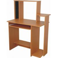 China Functional Wooden Computer Desk Exquisite PB / MDF With Shelf DX-8539 wholesale