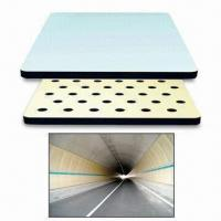China Tunnel Fire-protection Board/Tunnel Fireproof Board/Fire-resistant Board, Alumina-ceramic Trim Plate wholesale