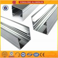 Mechanically Polished Aluminum Profiles High Surface Brightness Black for sale