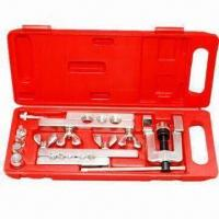 China Refrigeration Tools with Tube Cutter, Flaring Tools, Tube Bender and Swagging Punch Set wholesale