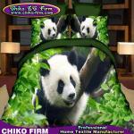 Panda Design 100% Polyester 3D Printed Bedding Set Duvet Cover Set