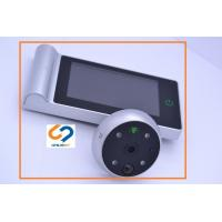 China Electronic Wireless Digital Door Viewer 2800mAh Replaceable Lithium Battery Powered on sale