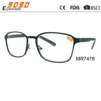 China New design high quality fashionable reading glasses ,made of metal frame wholesale
