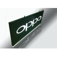 China Hanging Light Box Signs , Lighted Outdoor Signs With Cutout Illuminated Letter wholesale
