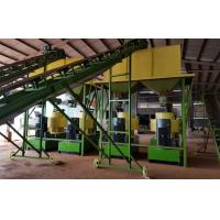 China Beech Wood Sawdust Complete Line Wood Pellet Making Machine With 3T/H Capacity on sale
