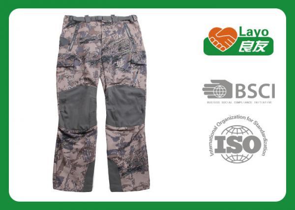 Quality Winter Waterproof Hunting Camo Pants , Mossy Oak Camo Pants Anti Static for sale