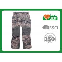 China Winter Waterproof Hunting Camo Pants , Mossy Oak Camo Pants Anti Static wholesale