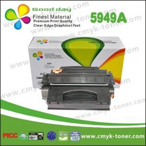 Buy cheap Cartucho de tinta original del negro de Q5949A HP compatible para el jet del laser de HP from wholesalers