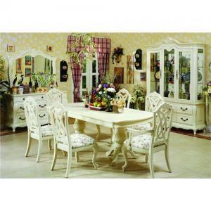 China Home furniture wood furniture wooden furniture wood dining room furniture dining sets dining set wholesale
