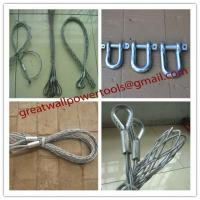 China Diameter 10-20mm Cable grips,Cable Socks,length 1000mm Pulling grip on sale