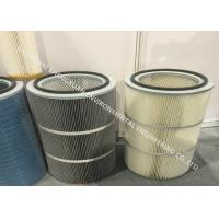 China Large Air Flow Big Blue Filter Cartridge For Gas Turbine Suction Compressor on sale