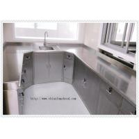 China Stainless Steel Laboratory Wall Bench For Cleanroom Resist Strong Acid And Alkali on sale