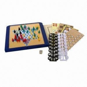 China 6-in-1 Chess/Ludo/Checkers/Backgammon, Measures 17.2 x 10.2 x 3.6cm wholesale
