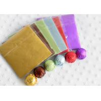 China Aluminum Alloy Foil Wrapping Paper For Chocolate And Candy Wrapping Colorful wholesale