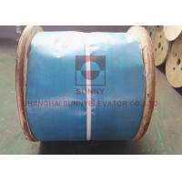 China Right Hand Regular Lay Wire Ropes With Steel Core / Mixed Core for Elevator Parts on sale
