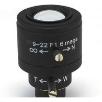 China 9-22mm F1.6 Megapixel Varifocal Manual Iris Board Lens wholesale