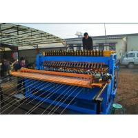 CNC Control Reinforcing Mesh Welding Machine , Fully Automatic Welded Wire Mesh Machine