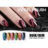 China Logo Printable Nail Art Gel Polish Cat Eye , Bright Color Led Nail Gel Polish wholesale