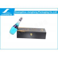 China Matte Lamination Recycled Wine Packing Boxes Wooden Gift Boxes With Foam Insert wholesale