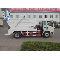 China EuroIII 4x2 HOWO brand Light Hork Arm Garbage Truck Collection 5M3 Q235 Material 190HP wholesale
