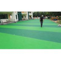 Lower Gravity Playground Rubber Flooring , Heat Resistant Rubber Play Area Chippings