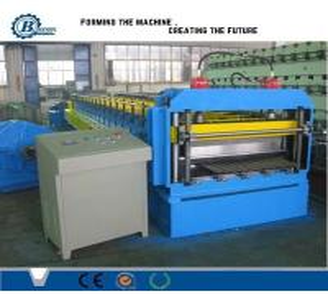 China Cold Rolled Galvanized Profile Corrugated Sheet Making Machine For Africa Market wholesale