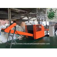 China TPR Materials PVC Cloth Shredder Rag Cutting Machine With Sharpening Device wholesale