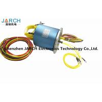 China 4 Channels Electro Rotary Joint 6 Circuits slip ring Multi Sigle Mode With Aluminum Housing Material fiber optic joint wholesale